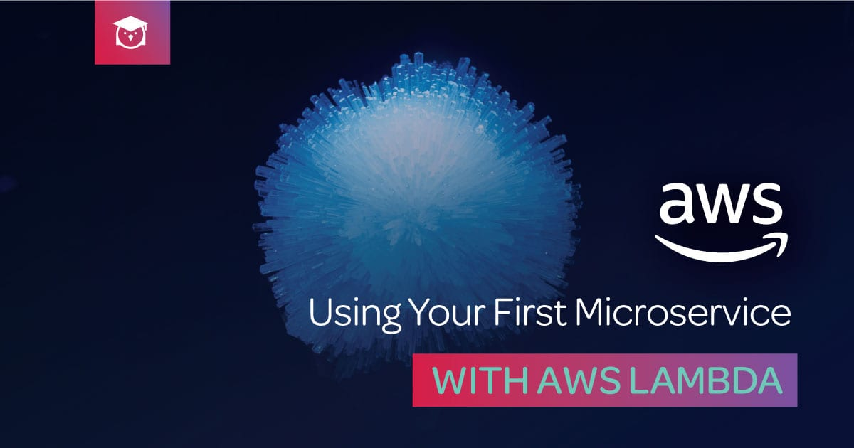 using your first microservice aws lambda