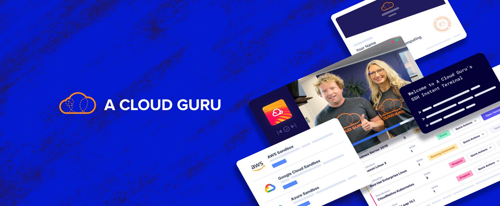 A Cloud Guru Website