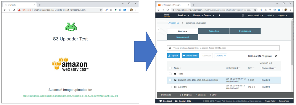 Setting up an app in the AWS Application Repository that you can deploy to your AWS account.