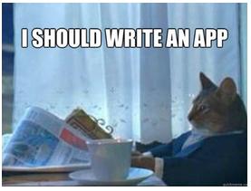 App development meme