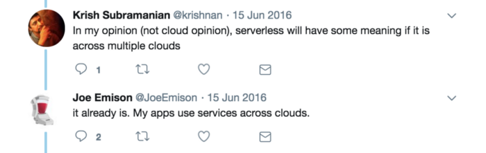 Serverless stack for app innovation and accelerated development.