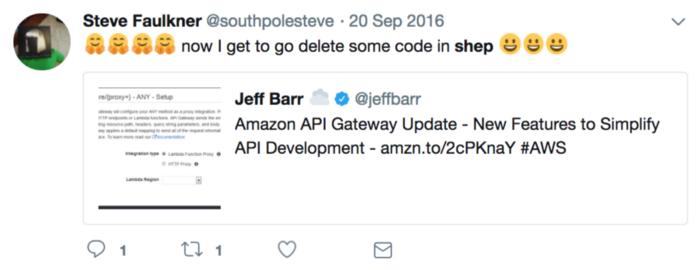 Amazon API Gateway update with new features to simplify API development.